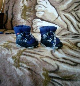 Зимние детские ботинки!