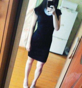 Чёрное платье Глория Джинс