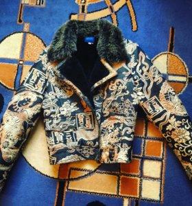 Брендовая зимняя куртка KENZO