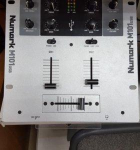 Микшер для свода треков NUMARK M101 USB