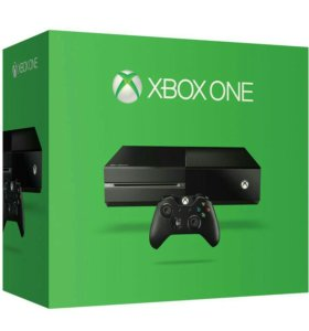 Xbox One 500 гб. с играми