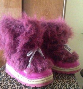 Обувь детская зимняя девочке