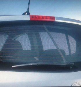 Заднее стекло на Mitsubishi Lancer 10