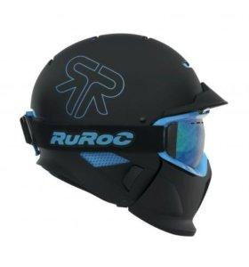 Горнолыжный шлем rurok Black-lce
