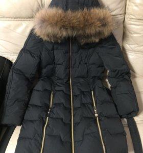 Куртка пуховик удлиненная продам