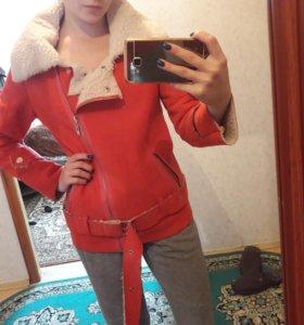 Куртка-косуха под дубленку