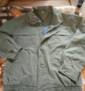 Куртка - ветровка, муж. 52-54.