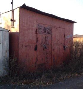 Металический гараж на 2 автомобиля