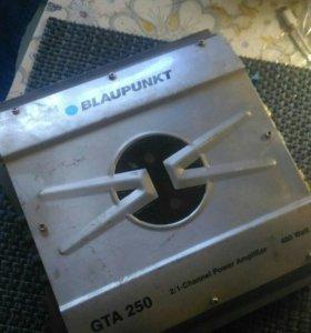 Усилитель BLAUPUNKT GTA 250- 2 канала - 400 WATT