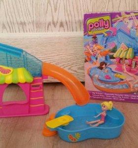 Polly pocket бассейн полли покет кукла мини