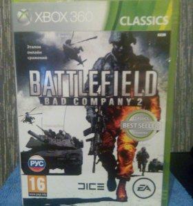 Battlefield:Bad Company 2 (x box 360)