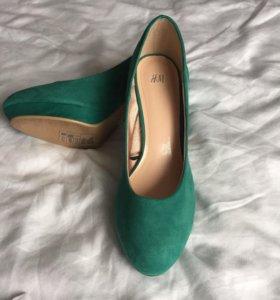 Туфли женские h&m