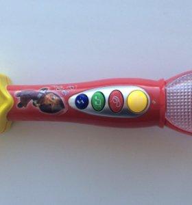 Микрофон музыкальная игрушка маша и медведь