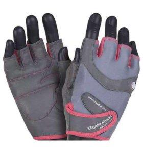 Перчатки для фитнесса Klaudia kinska новые!