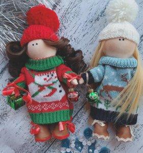 Интерьерная кукла, тильда,кукла ручной работы