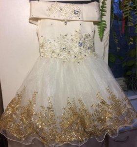 Платье праздничное 4-6 дет