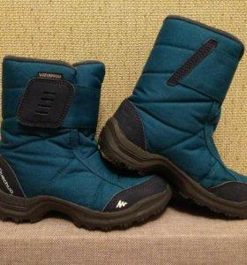 Демисезонные ботинки фирмы Декатлон