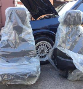 Новые передние сидения ВАЗ 2114 2109