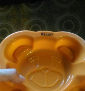 """Силиконовая форма для выпечки """"Медведь"""""""