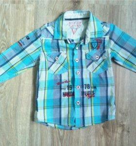 Рубашка GUESS , 4года
