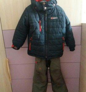 Зимний комбинезон для мальчика Gusti