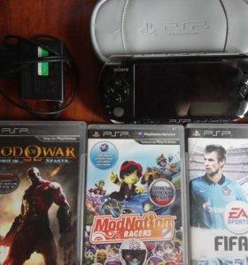 Игровая приставка Sony PlayStation Portable