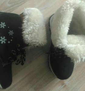 Зимние ботинки. Новые