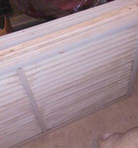 Решетки на радиаторы пластиковые