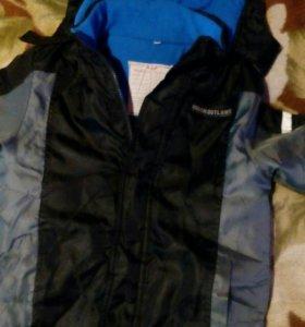 Куртка на мальчика 7- 8 лет