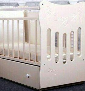 Детская кроватка «Бантики»