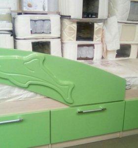 Детская кроватка Дельфин