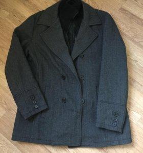 Мужское утеплённое пальто