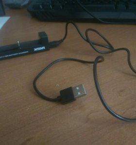 Xtar зарядка для аккумуляторов 18650