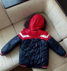 Зимняя детская куртка рост 122