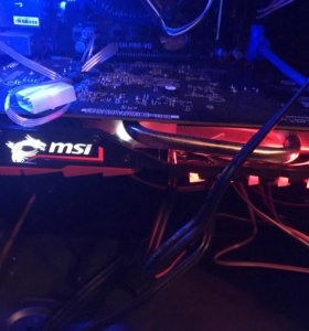 Видеокарта MSI GeForce GTX 1050 Ti gaming X 4gb