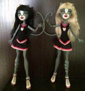 Monster High / Монстер хай Мяулоди и пурсефоне