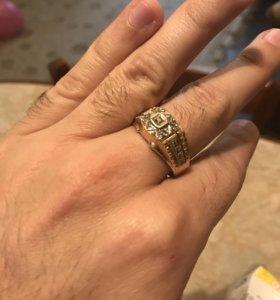 Печатка кольцо с бриллиантами