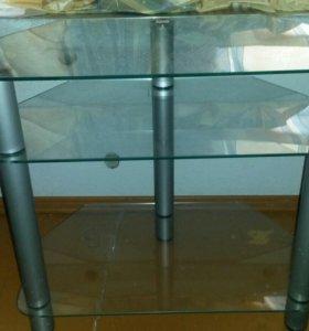 Столик-подставка под ТВ и аудио-, видео-аппаратуру