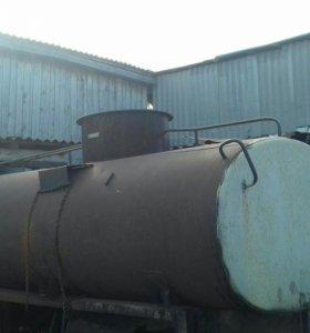 Бочька от бензавоза под воду или канализацию 5 куб