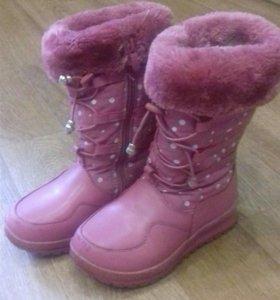 Сапоги зимние для девочки