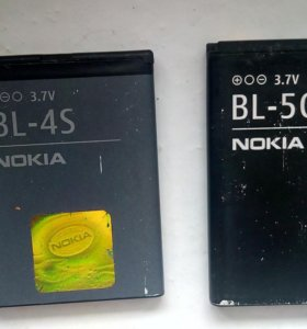 Батареи Nokia