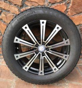 Колёса шипованные в сборе на Mercedes-Benz GL