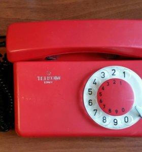 Дисковый телефон СССР