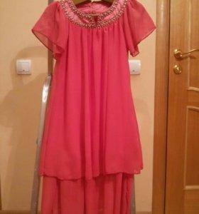 Платье нарядное 146 см.