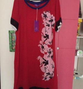 Платье-туника (Турция) новое