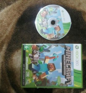 Игра Minecraft EDITION для Xbox 360.