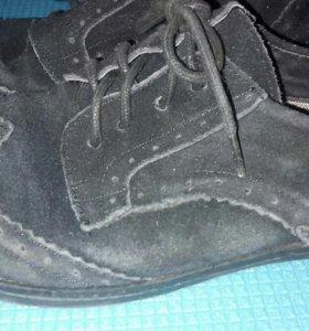 Ботинки школьные для мальчика