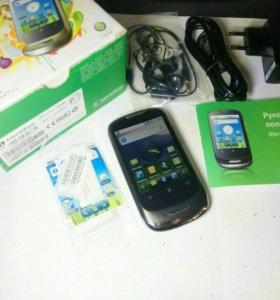 Компактный смартфон полный комплект