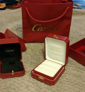 Коробочки для колец от Cartier
