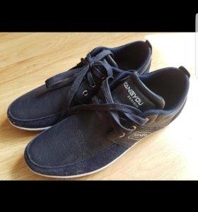 Ботинки-мокасины мужские